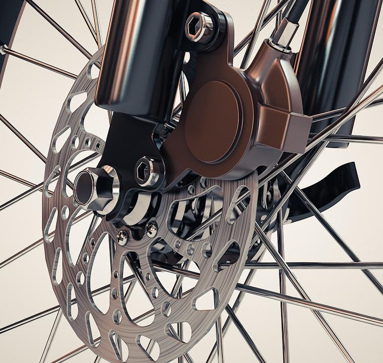 Mechanical disc brake